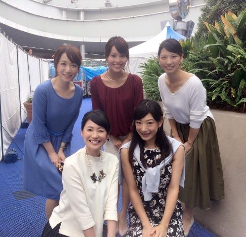 テレビ アナ 中京 女子